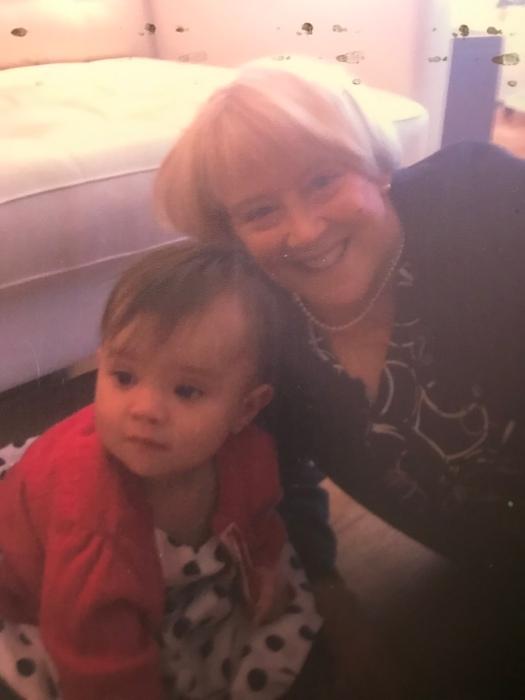 Granddaughter and Yaya